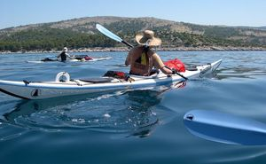 Kayaking, Rowing