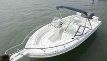 dual console boat