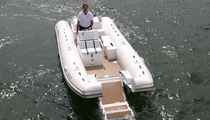 rigid inflatable catamaran
