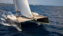 cruising-racing catamaran