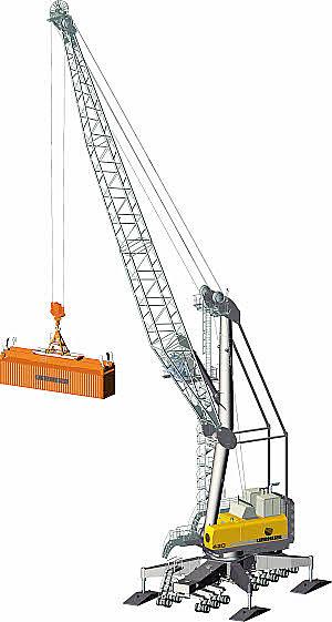 rubber-tired-crane
