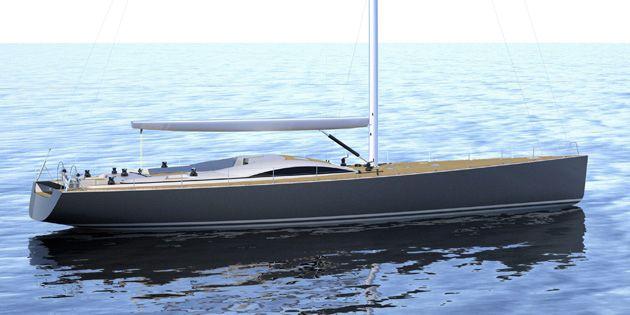 Segelyacht modern  Ocean cruising sailing yacht / deck saloon / 6-cabin - COMET 85 RS ...