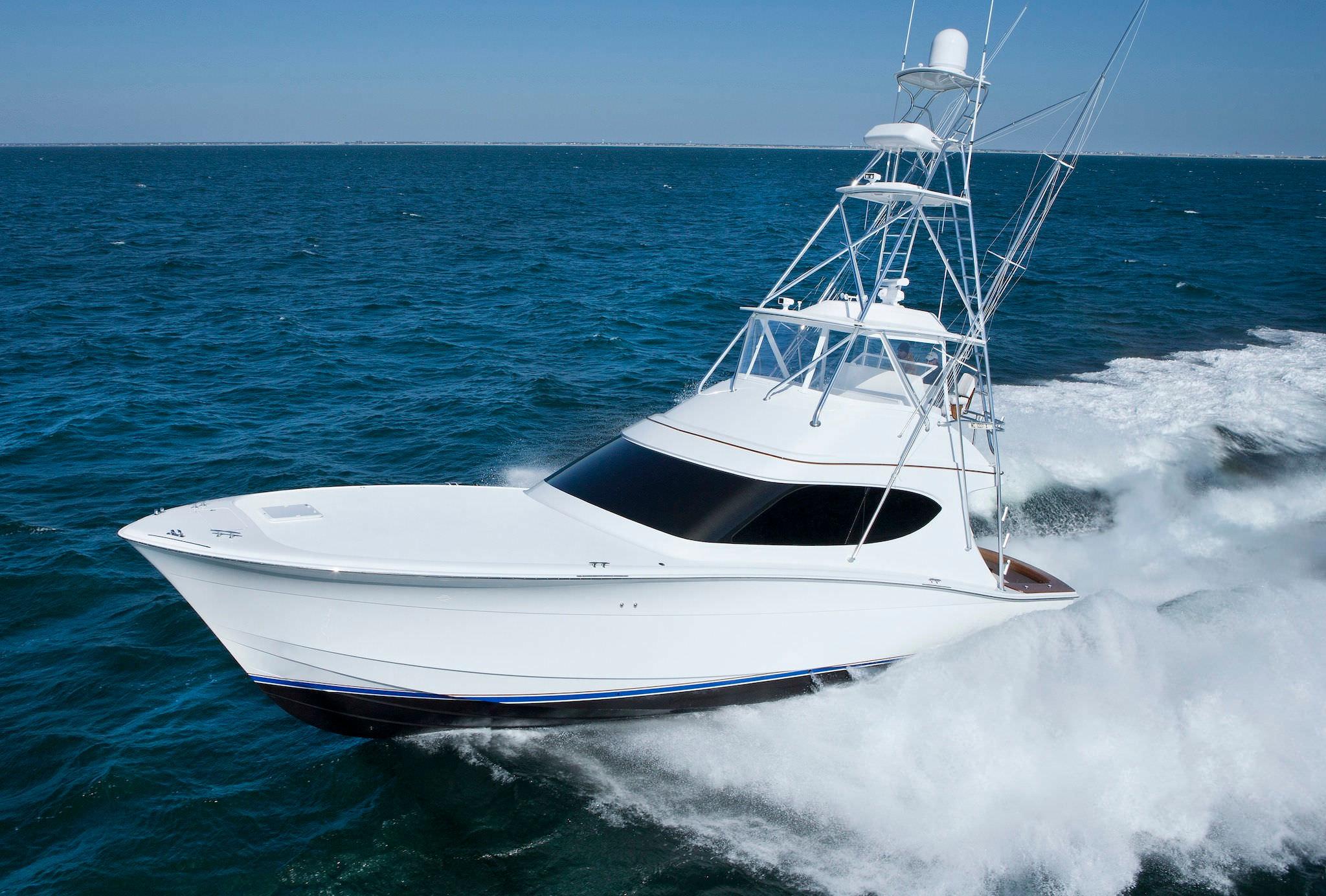 sport-fishing motor yacht / convertible / flybridge / planing hull ...