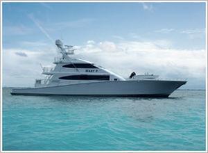 Sport Fishing Luxury Super Yacht Convertible Raised Pilothouse Aluminum M