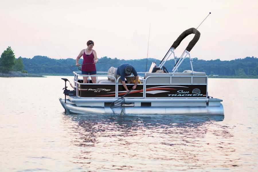 Electric pontoon boat / sport-fishing / 7-person max. - BASS BUGGY ...