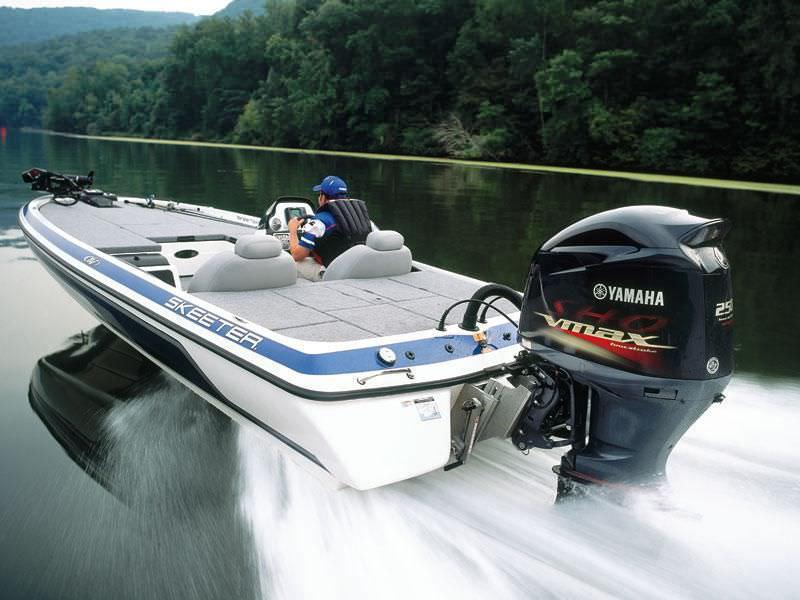 Boating Engine Outboard Gasoline 4 Stroke Vf250 Yamaha