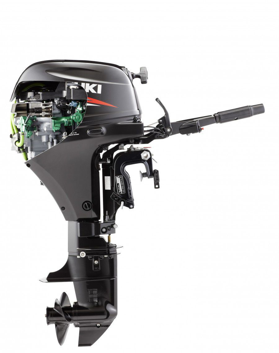 outboard engine / gasoline / 4-stroke - df15a - suzuki marine europe