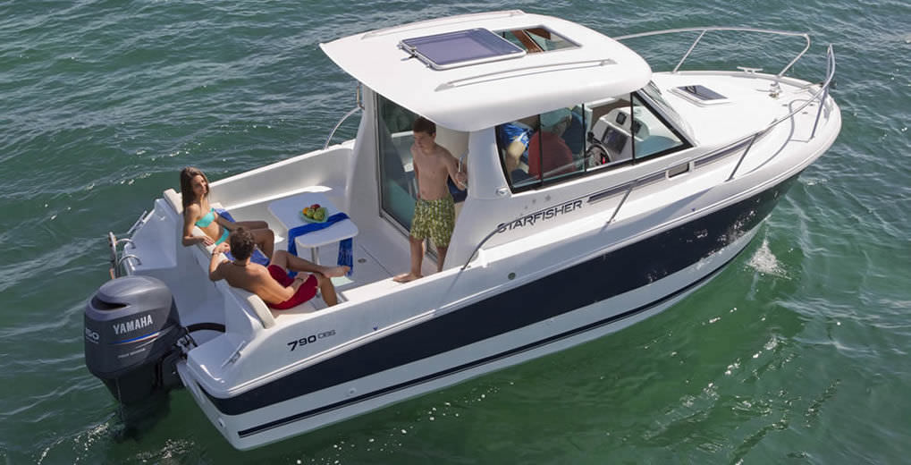 Charmant Inboard Cabin Cruiser / With Enclosed Cockpit / Hard Top / Sport Fishing    ST790 OBS