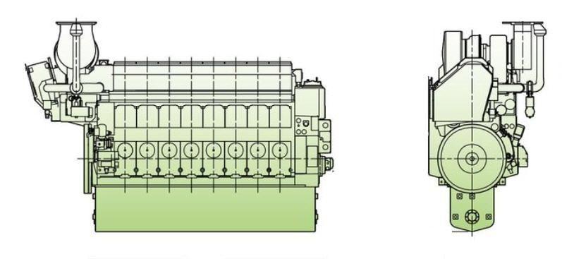 medium speed ship engine auxiliary diesel l21 31 man diesel se medium speed ship engine auxiliary diesel l21 31