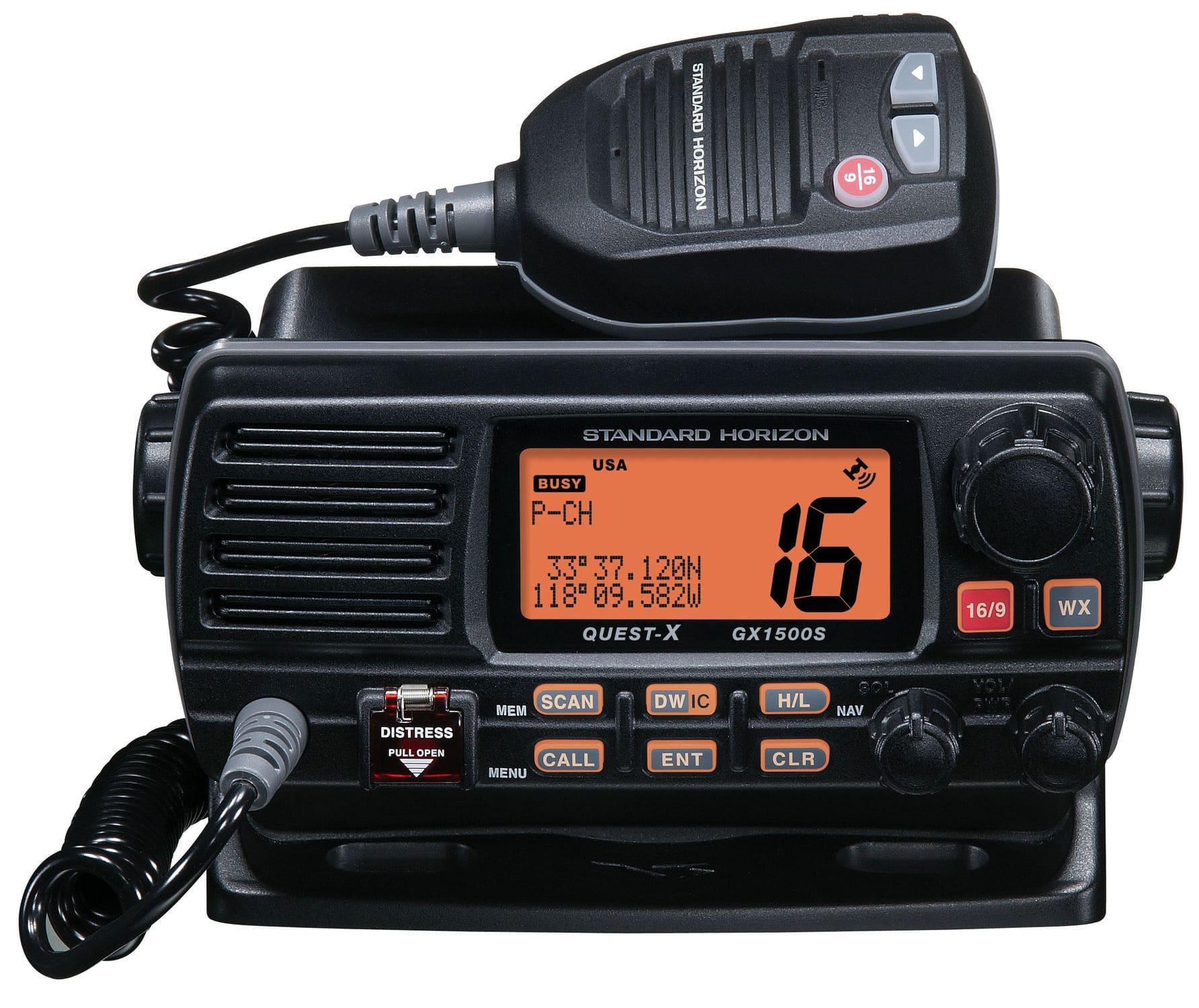 marine radio / fixed / VHF / submersible - Quest-X GX1500S
