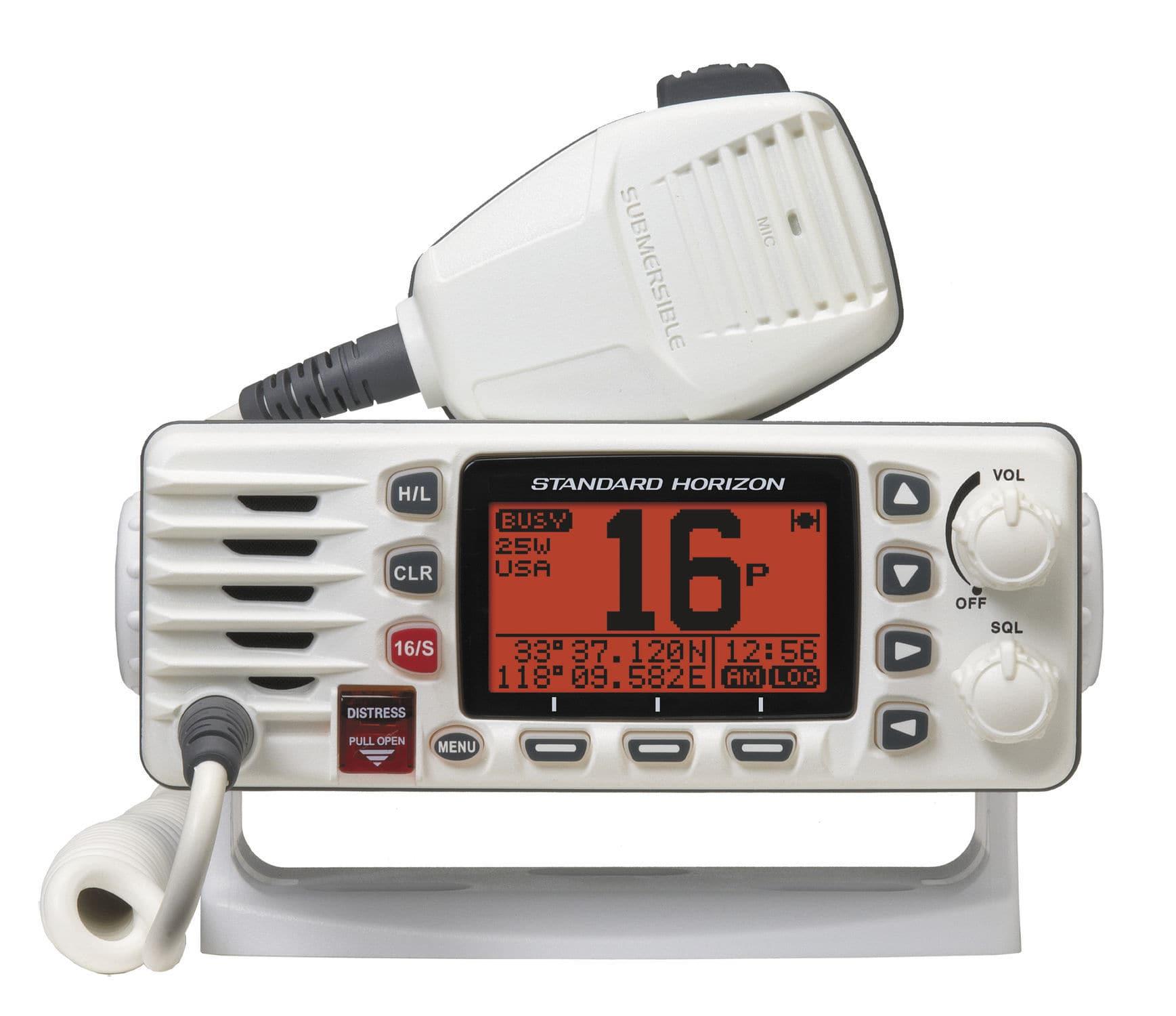 Boat Radio Fixed Vhf Ipx8 Eclipse Gx1300 Standard Horizon Wiring