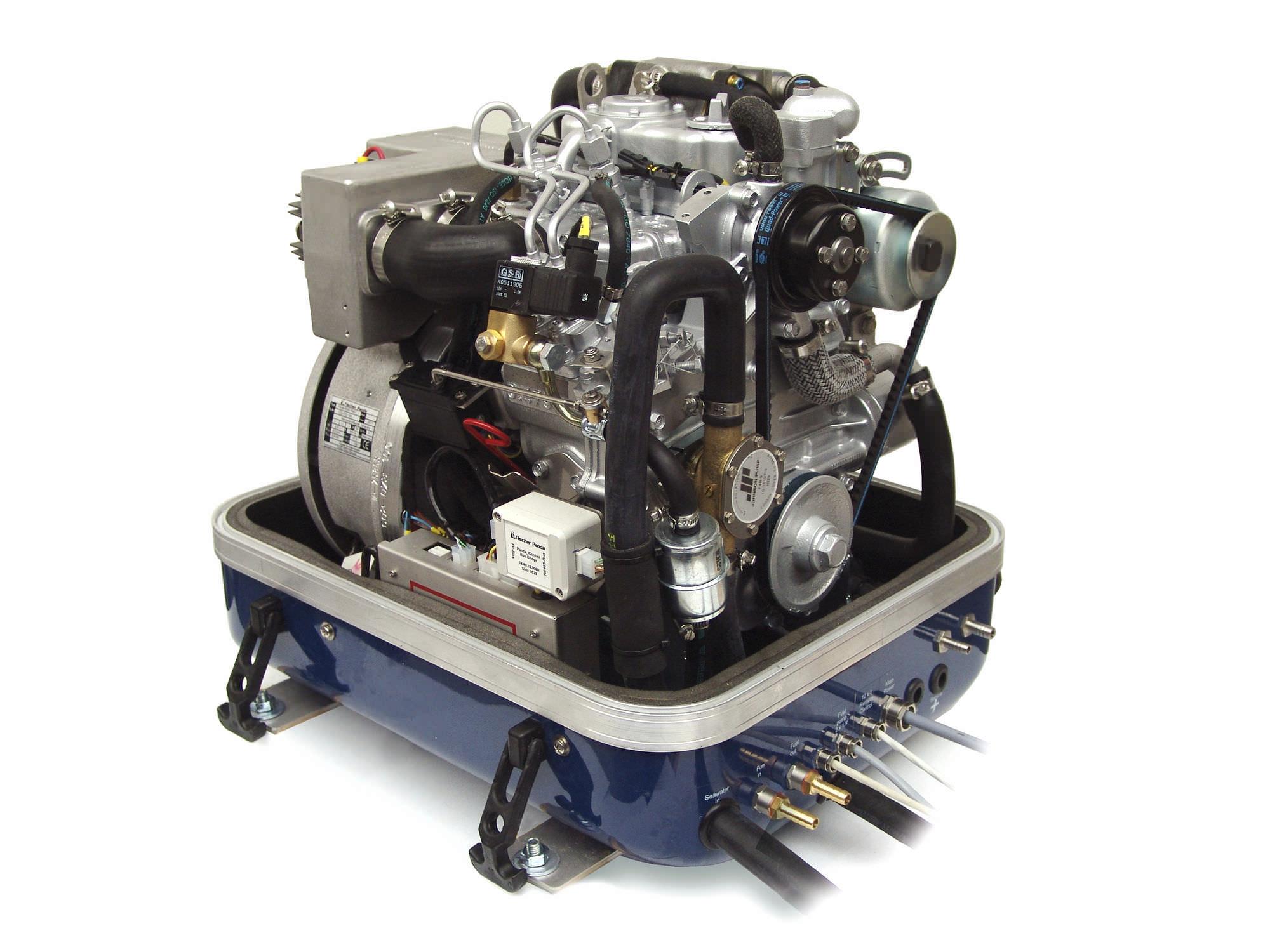Boat generator set sel PANDA 8000i PMS Fischer Panda