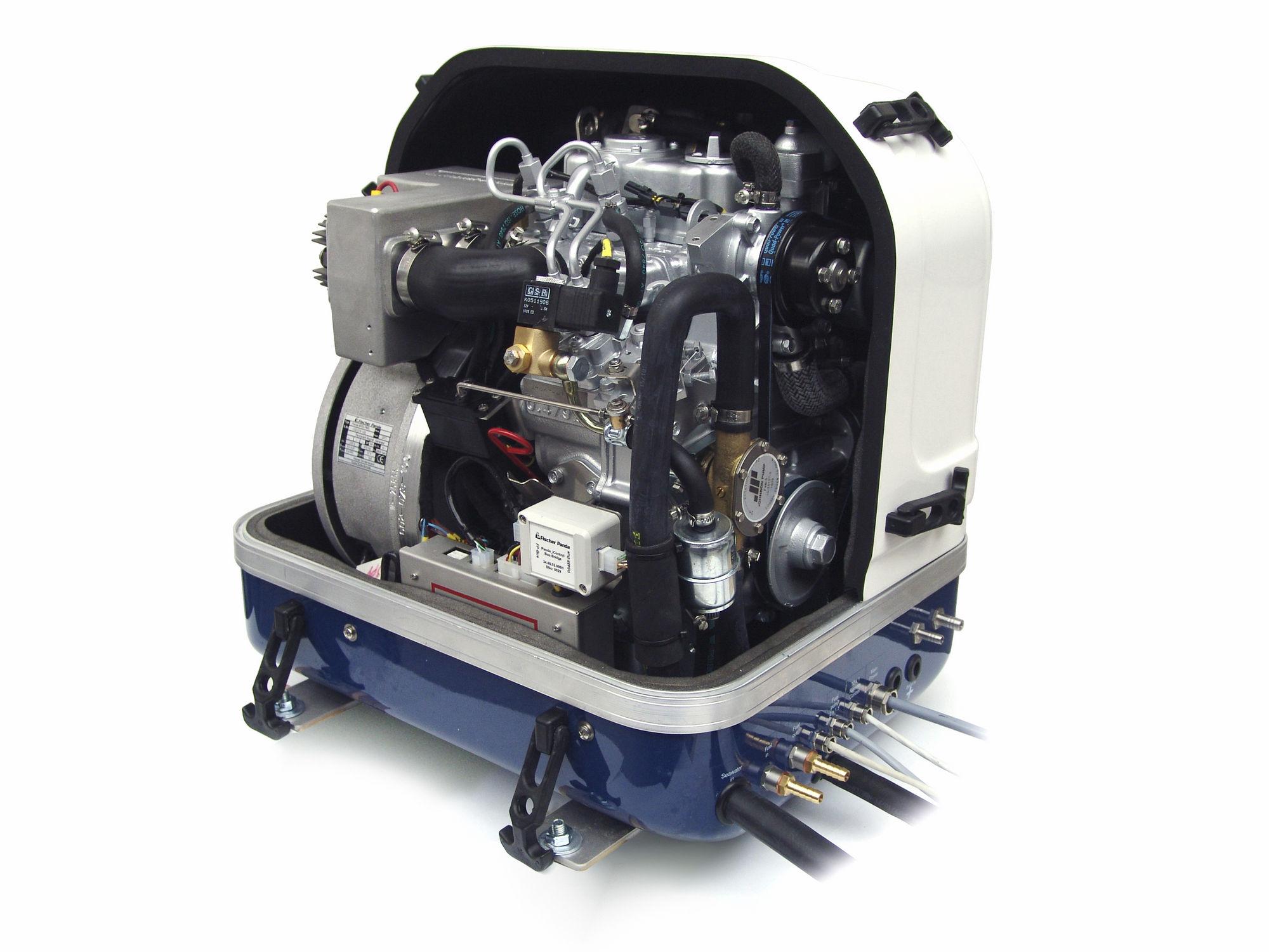 boat generator set / diesel ...
