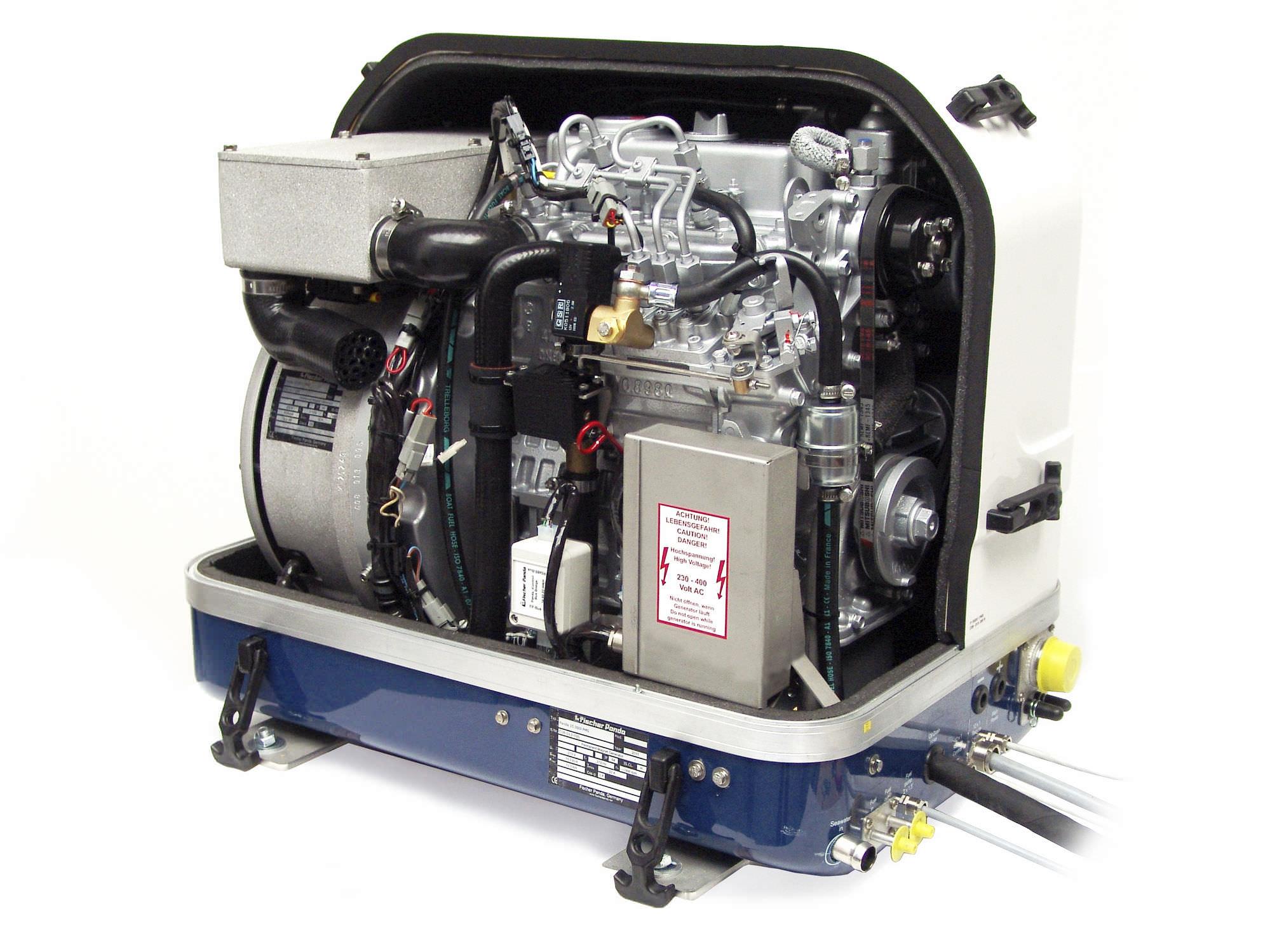 Boat generator set sel with alternator PANDA i PMS