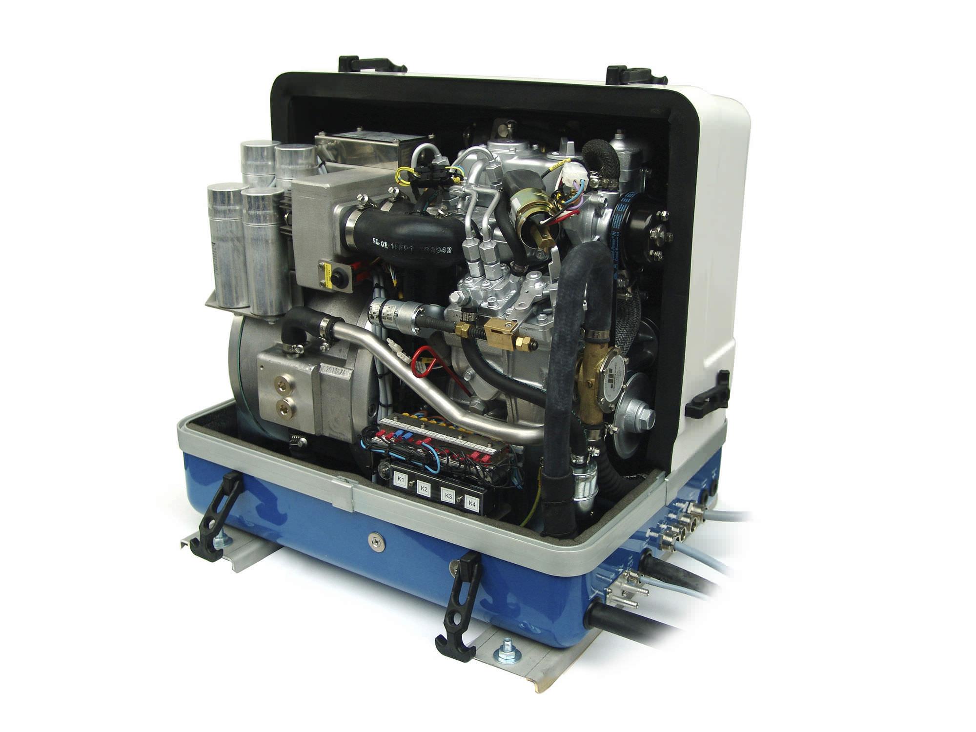Boat generator set sel soundproofed PANDA 8000 PMS
