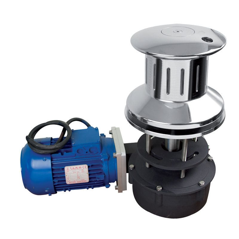 Boat capstan / electric / stainless steel base - T3000 - Lofrans