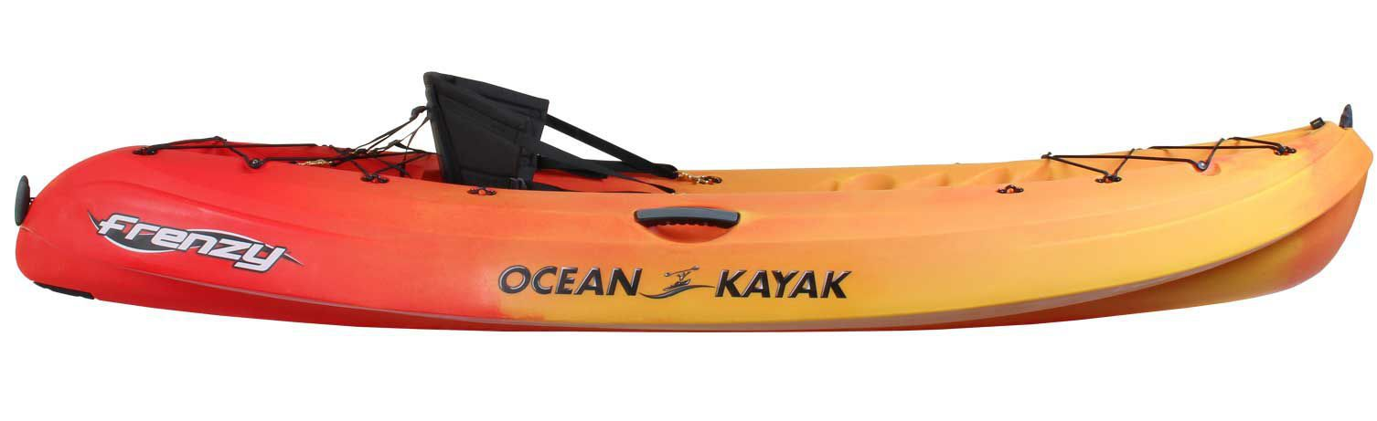Sit On Top Kayak Rigid Surf Recreational