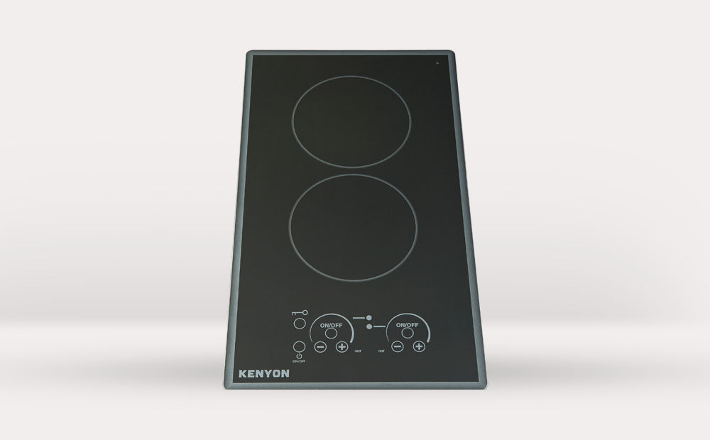 electric cooktop for boats twoburner litetouch q cortez 2
