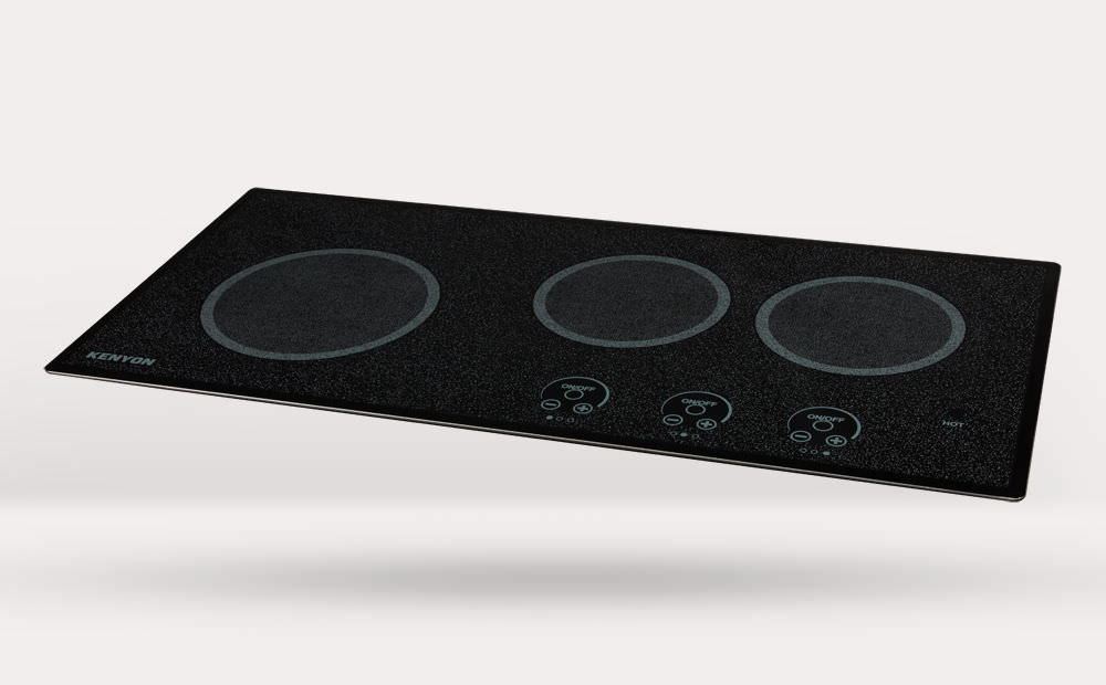 Electric Cooktop / For Boats / Three Burner ...