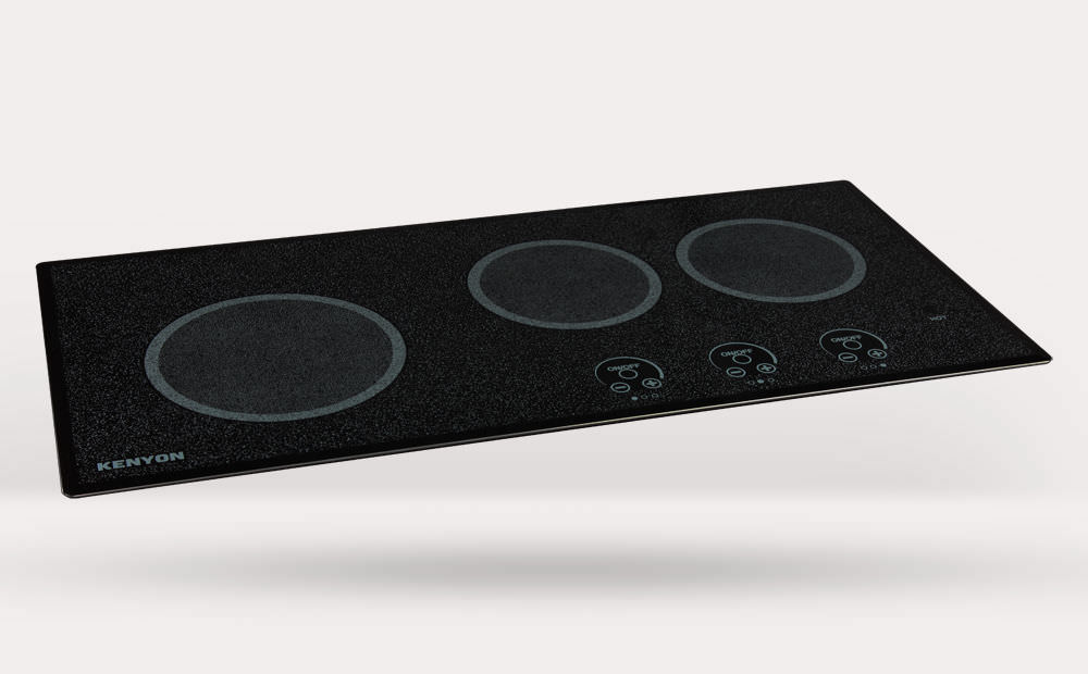 ... Electric Cooktop / For Boats / Three Burner
