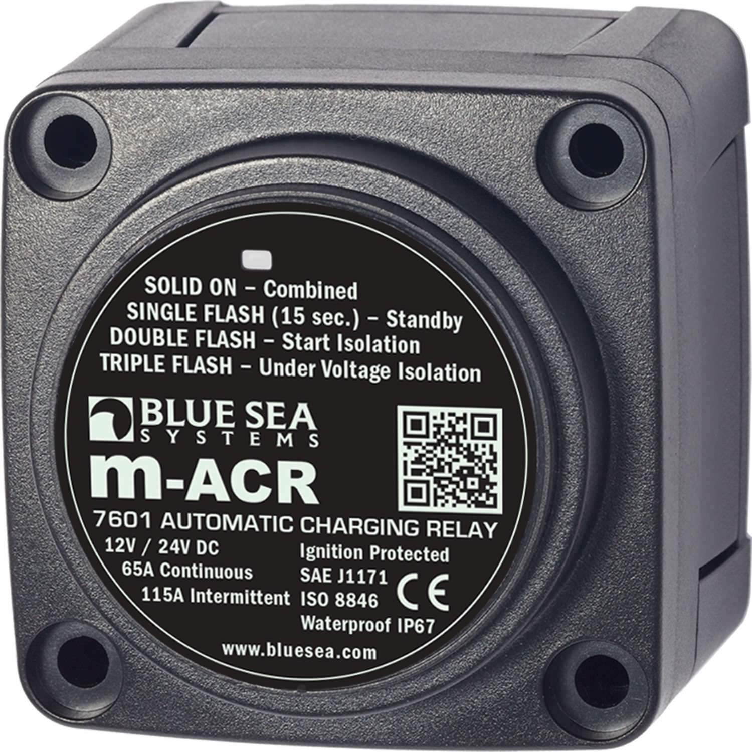 Power Relay For Boat Electrical Circuits M Acr Series Blue Sea 24 Volt Dc Wiring Diagram
