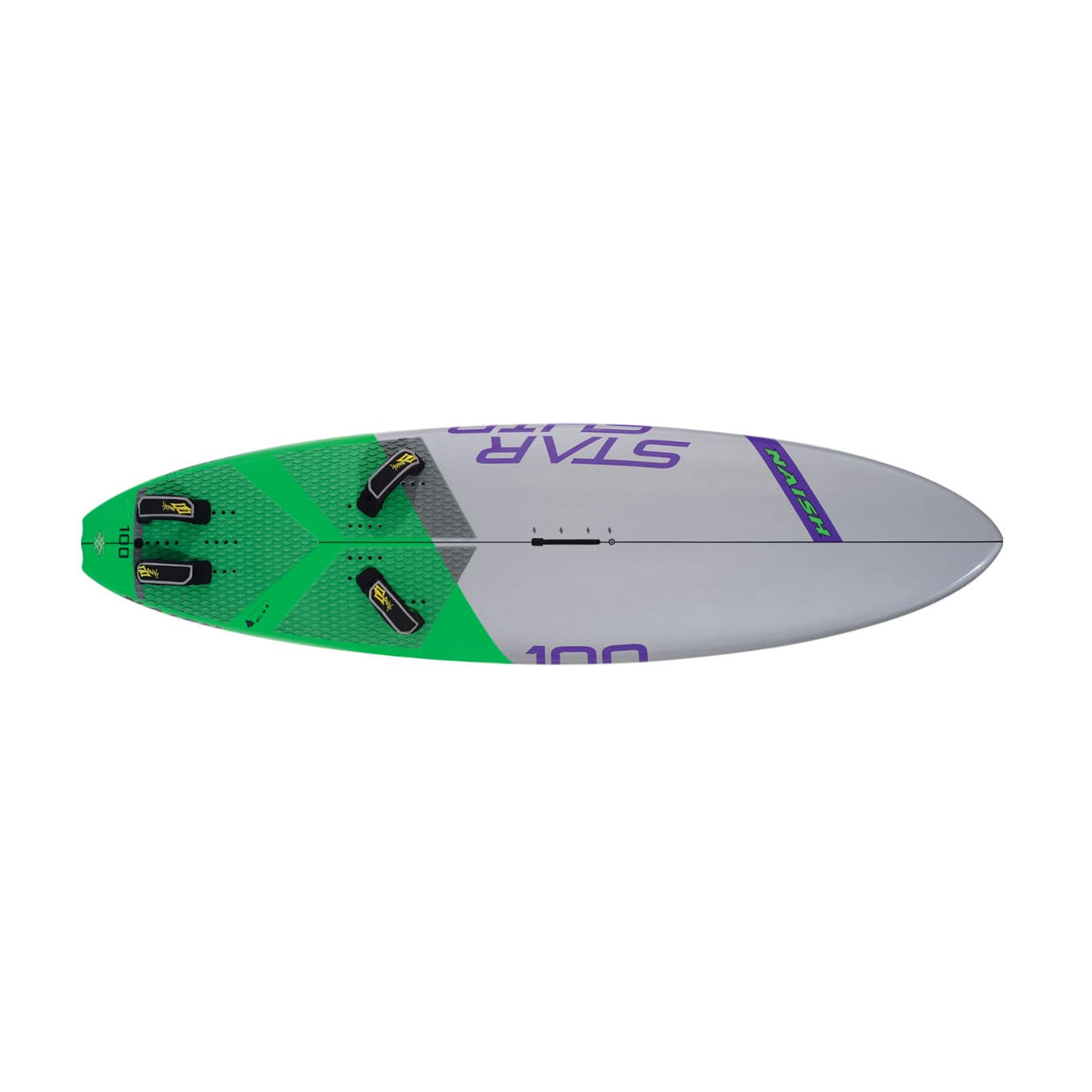 Freeride windsurf board / speed / freewave STARSHIP Naish Windsurfing
