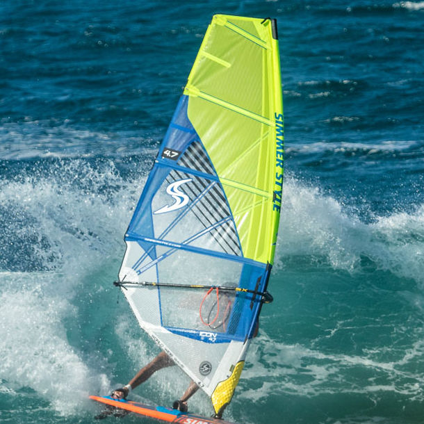 Wave windsurf sail / 5-batten 2019 ICON Simmer