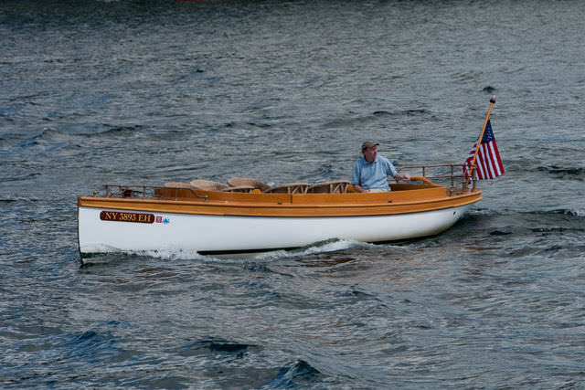 electric small boat ...