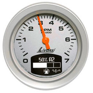 22301 10192658 analog tachometer for boats with engine hour meter master Gaffrig Gauges at aneh.co
