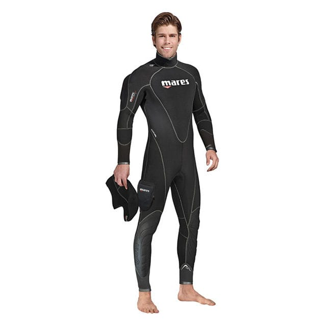dive wetsuit / long-sleeve / one-piece / with hood - FLEXA THERM