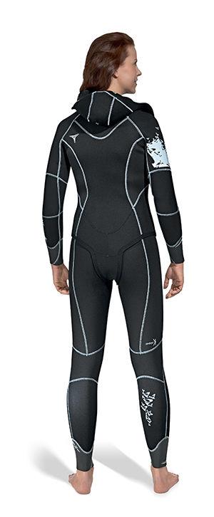 3f0d406e5f Dive wetsuit   long-sleeve   two-piece   women s - DUAL SHE DIVES ...