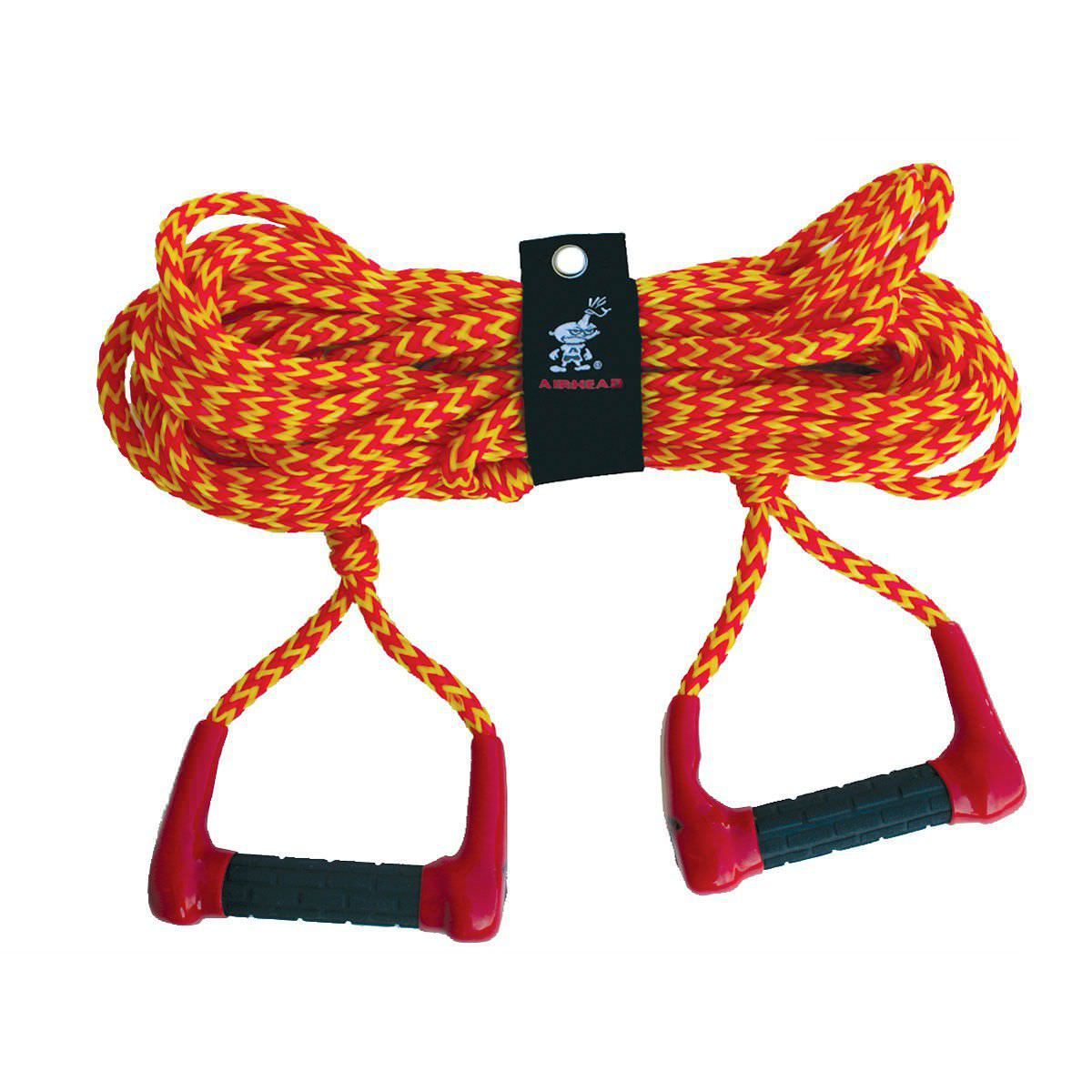 Ski Tow Rope Handle Double Airhead Harness