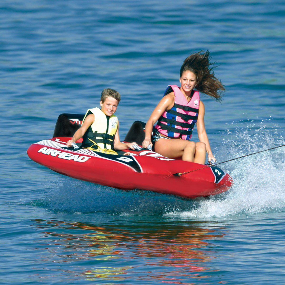 98d0a1dff66 2-person max. towable buoy - Viper - airhead - Videos