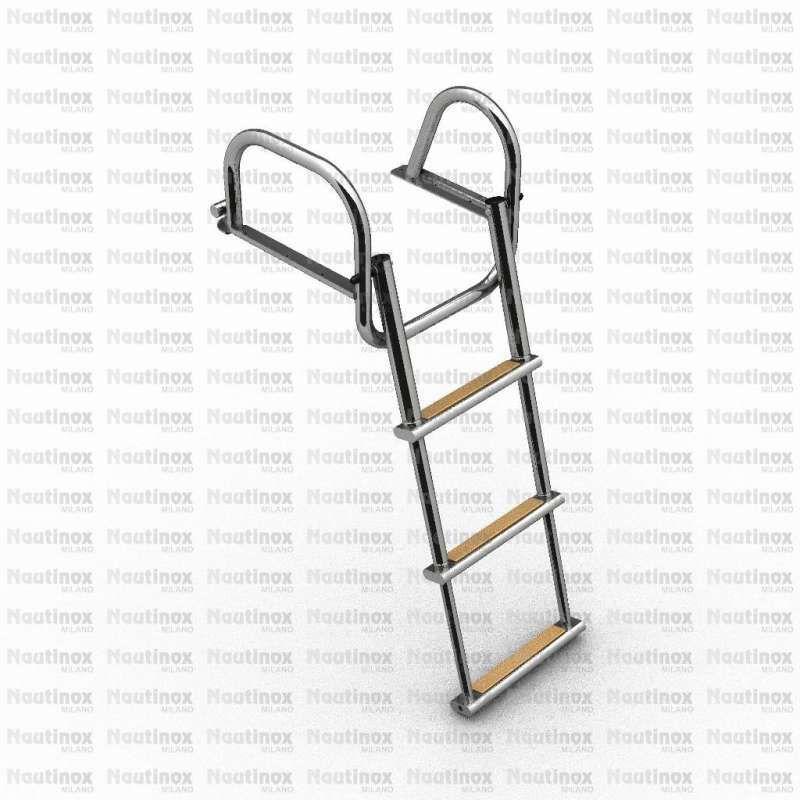 Boat ladder / telescopic / swim / platform - 2250 serie