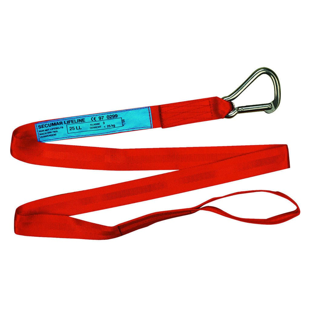 safety harness tether / boat - 25 LL