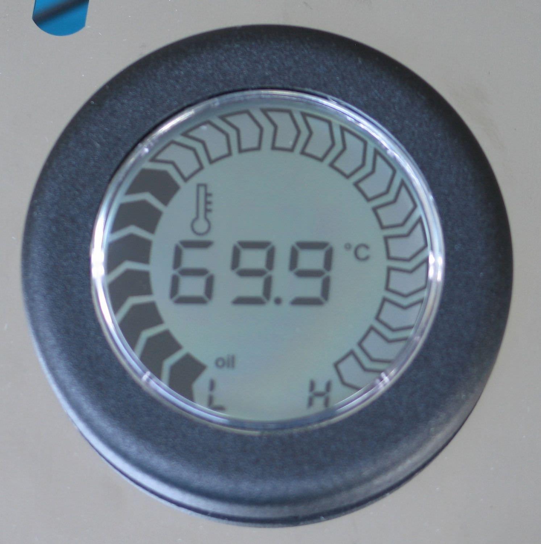 zeichen thermometer in wasser im auto