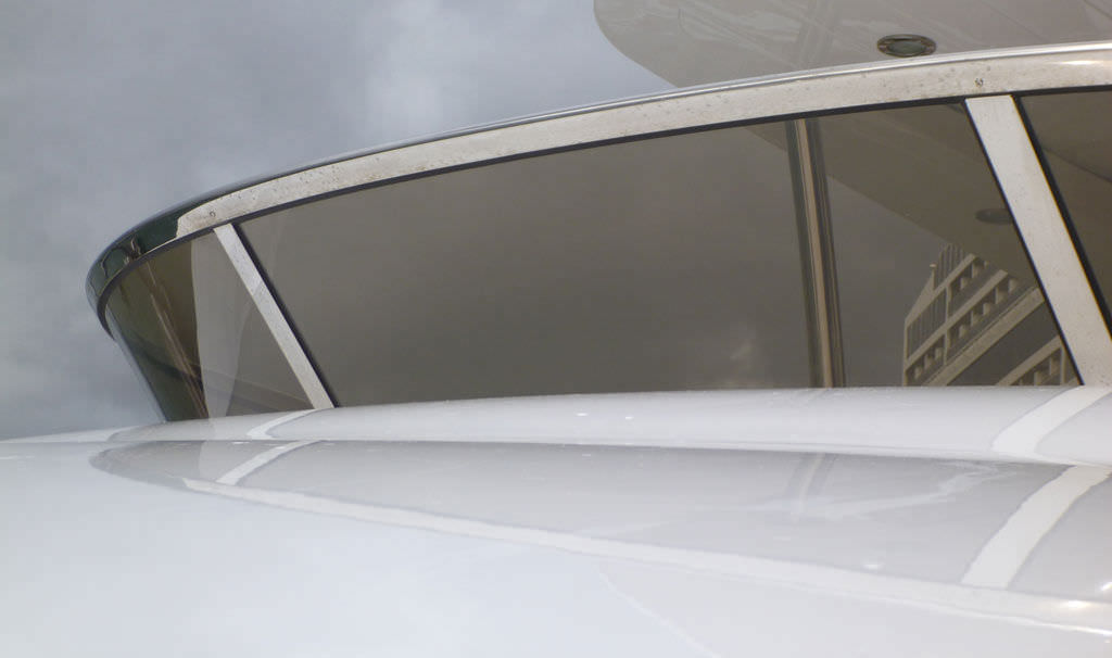 Boat windshield - BALUSTRADES - Trend Marine Products