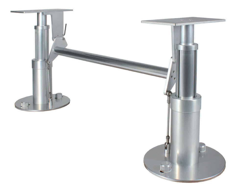 Adjustable Boat Table Pedestal / Pneumatic / Stainless Steel   3334 IL