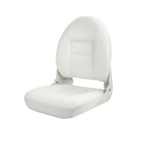 Helm Seat For Boats Fold Down With Lumbar Support
