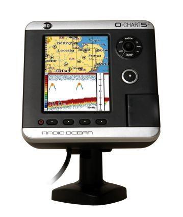 gps / chart plotter / fishfinder / for boats - o-chart5f - radio océan, Fish Finder