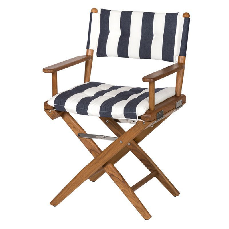 Boat Directoru0027s Chair / Folding / Wooden   Deluxe