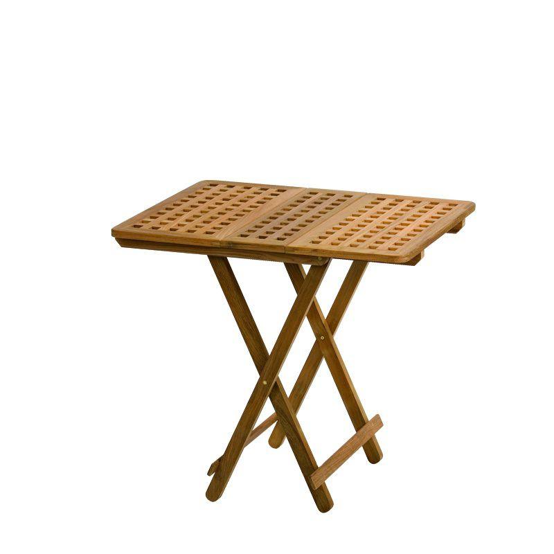 Boat Side Table / Folding / Teak   Southampton