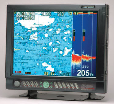 gps / chart plotter / fishfinder / for ships - he-1501 / he-1502, Fish Finder