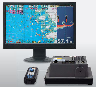 gps / chart plotter / fishfinder / for boats - he-7301ii-bb / he, Fish Finder