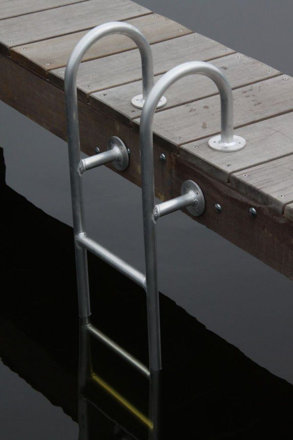 Dock ladder / fixed / swim / manual - large - DockAdd Marine