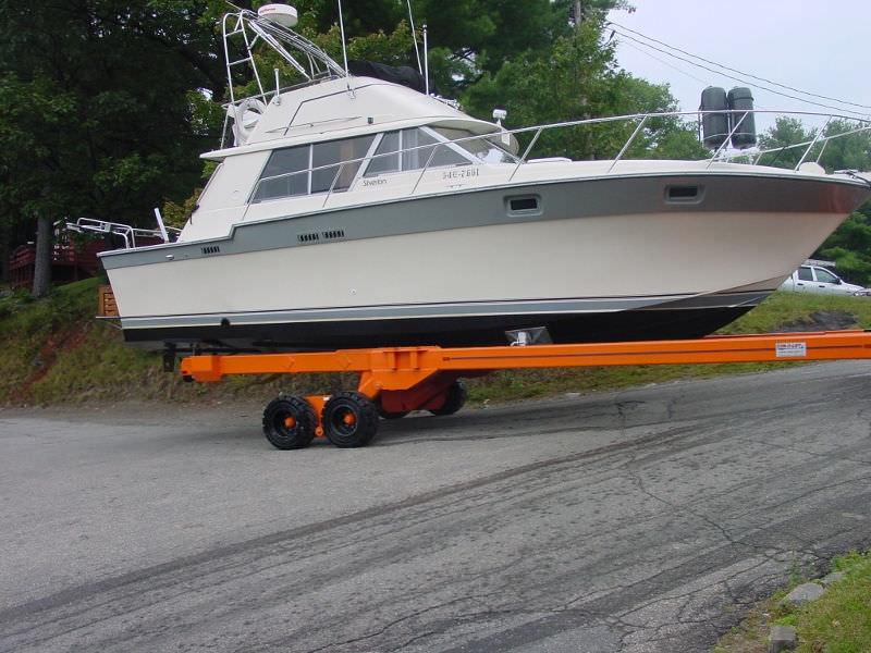 Handling trailer / launching / shipyard Y-15 Conolift ...