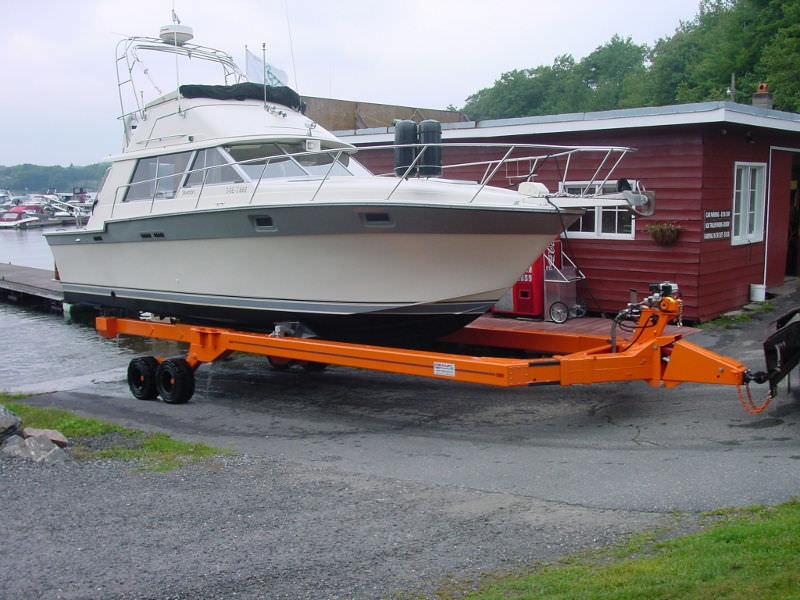 ... Handling trailer / launching / shipyard Y-15 Conolift ...