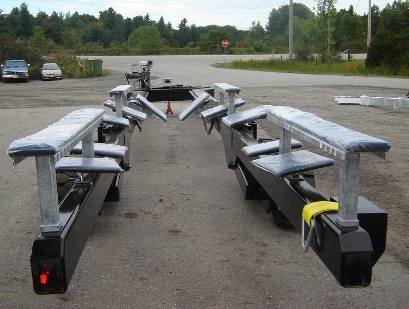 ... Handling trailer / shipyard Y-20 Conolift ...