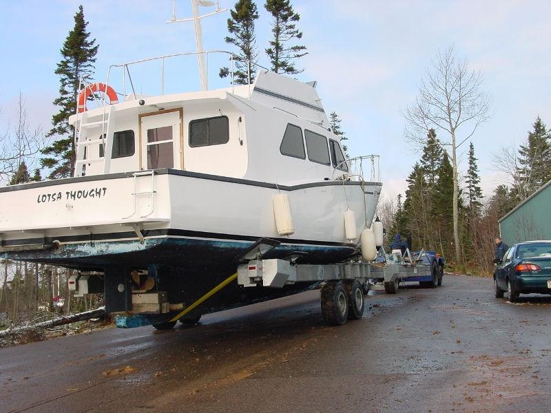 ... Handling trailer / launching / shipyard Y-40 Conolift ...