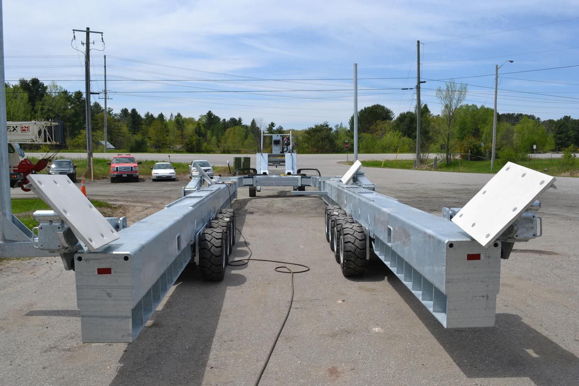 ... Launching trailer / for heavy-duty handling / shipyard Y-100 Conolift ...